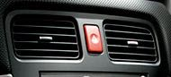 (03-08) Forester - JDM Hazard Button (Red)